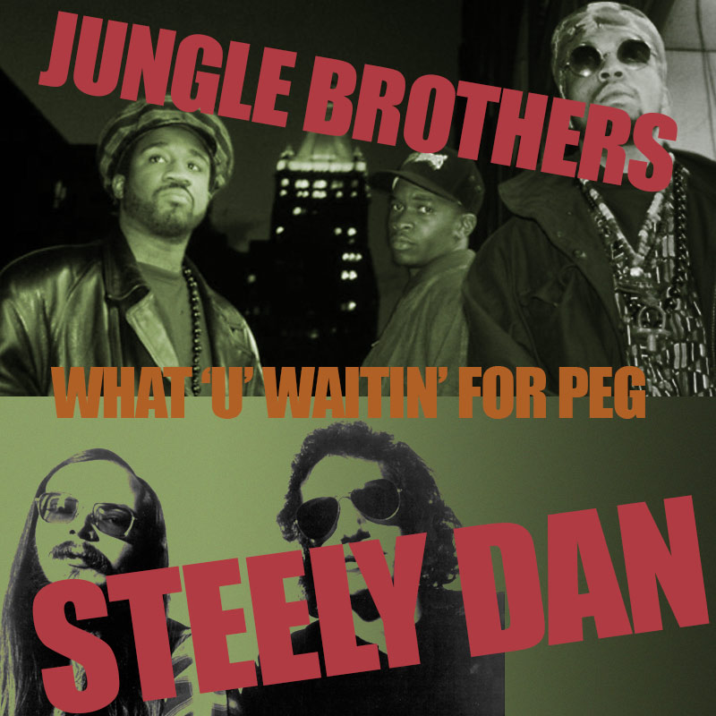 Jungle Brothers vs Steely Dan - What 'U' Waitin' For Peg