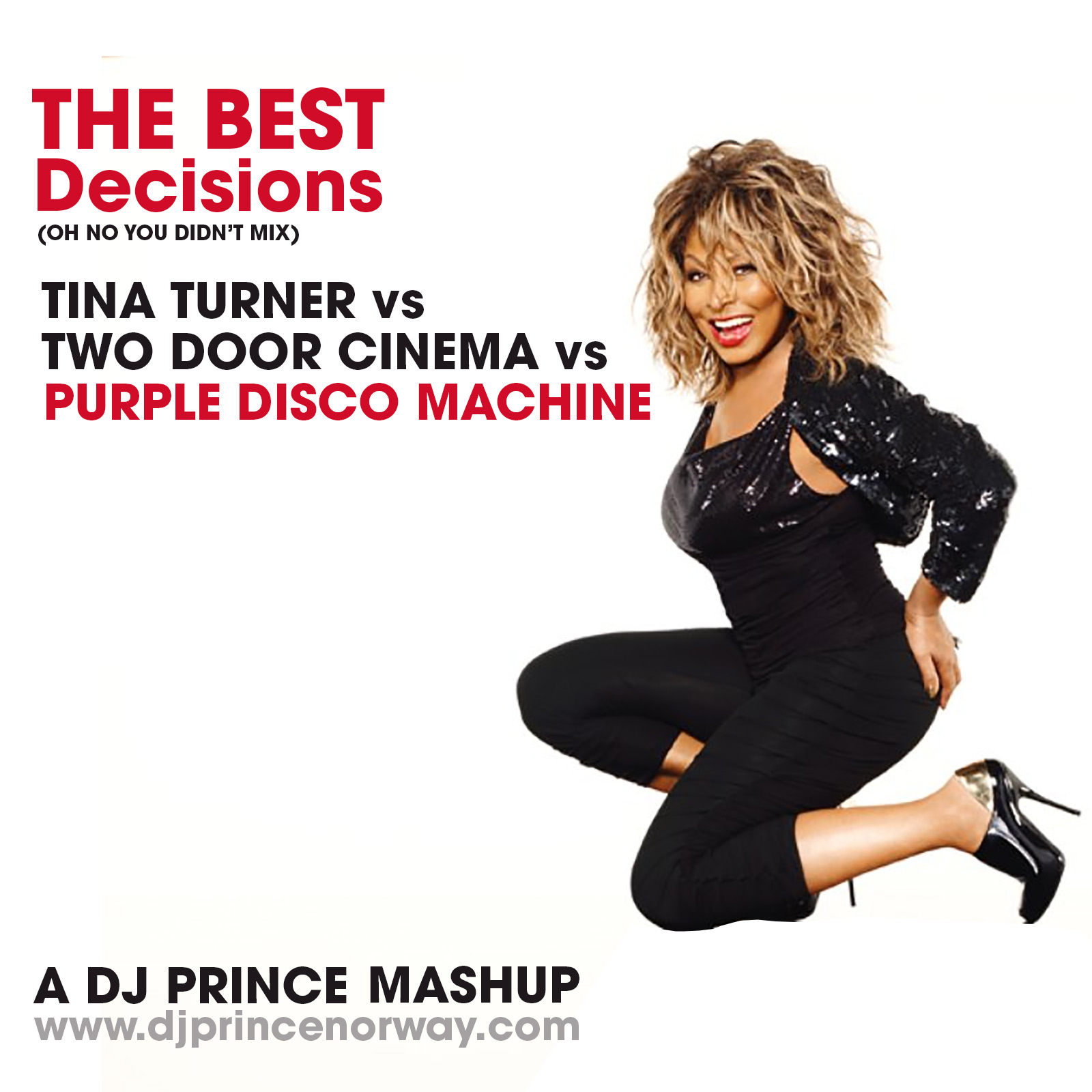 Tina Turner vs Two Door Cinema - The Best Decisions (DJ Prince Mashup)